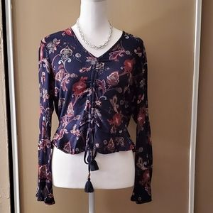 Gypsies and Moondust Ruched Front Top